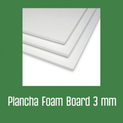 Plancha foam 3 mm