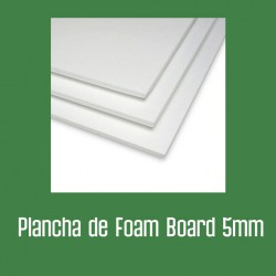 Plancha foam 5 mm