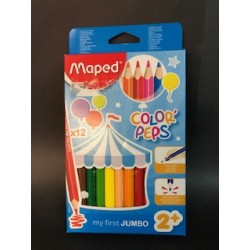 LAPICES JUMBO COLORES MAPED