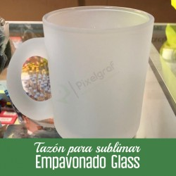 Tazon empavonado glass