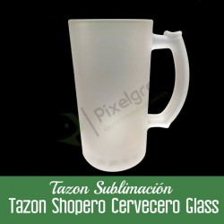 Tazon Shopero Cervecero Glass